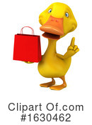 Yellow Duck Clipart #1630462 by Julos