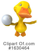 Yellow Duck Clipart #1630464 by Julos