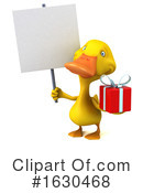 Yellow Duck Clipart #1630468 by Julos
