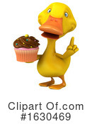 Yellow Duck Clipart #1630469 by Julos