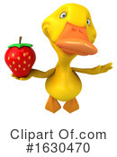 Yellow Duck Clipart #1630470 by Julos