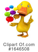 Yellow Duck Clipart #1646508 by Julos