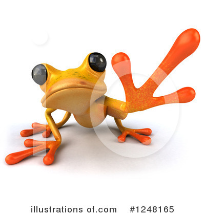 Frog Clipart #1248165 by Julos