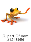Yellow Frog Clipart #1248956