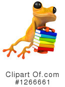 Yellow Frog Clipart #1266661 by Julos