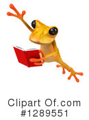 Yellow Frog Clipart #1289551 by Julos