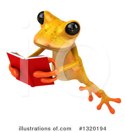 Yellow Frog Clipart #1320194 by Julos