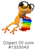 Yellow Frog Clipart #1333043 by Julos