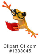 Yellow Frog Clipart #1333045 by Julos