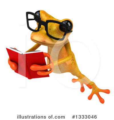 Yellow Frog Clipart #1333046 by Julos