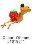 Yellow Frog Clipart #1619541 by Julos