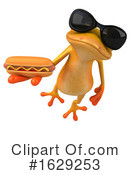 Yellow Frog Clipart #1629253 by Julos