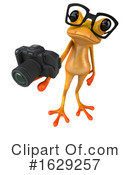 Yellow Frog Clipart #1629257 by Julos