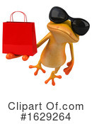 Yellow Frog Clipart #1629264 by Julos