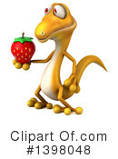 Yellow Gecko Clipart #1398048 by Julos