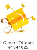 Yellow Gift Character Clipart #1341822