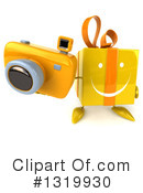 Yellow Gift Clipart #1319930 by Julos