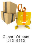 Yellow Gift Clipart #1319933 by Julos