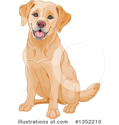 Labrador Clipart #1352210 by Pushkin