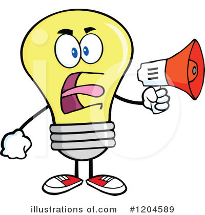 Megaphone Clipart #1204589 by Hit Toon