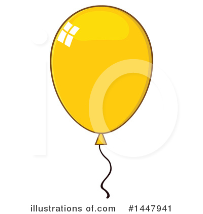 Balloons Clipart #1447941 by Hit Toon