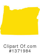 Yellow States Clipart #1371984 by Jamers