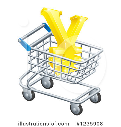 Shopping Cart Clipart #1235908 by AtStockIllustration