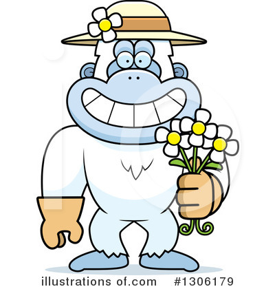 Royalty-Free (RF) Yeti Clipart Illustration by Cory Thoman - Stock Sample #1306179