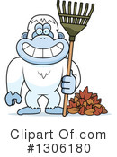 Royalty-Free (RF) Yeti Clipart Illustration #1306180