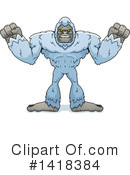 Royalty-Free (RF) Yeti Clipart Illustration #1418384