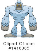 Royalty-Free (RF) Yeti Clipart Illustration #1418385