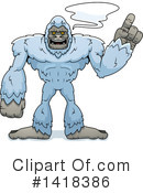 Royalty-Free (RF) Yeti Clipart Illustration #1418386