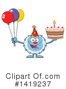 Yeti Clipart #1419237 by Hit Toon