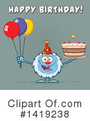 Yeti Clipart #1419238 by Hit Toon