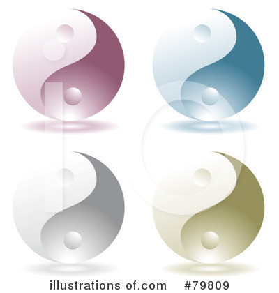 Yin Yang Clipart #79809 by michaeltravers