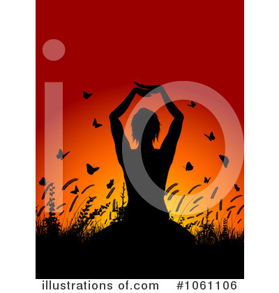 Meditating Clipart #1061106 by KJ Pargeter