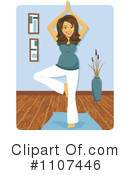 Yoga Clipart #1107446 by Amanda Kate