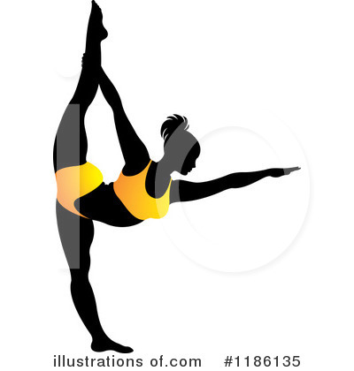 Royalty-Free (RF) Yoga Clipart Illustration by Lal Perera - Stock Sample #1186135