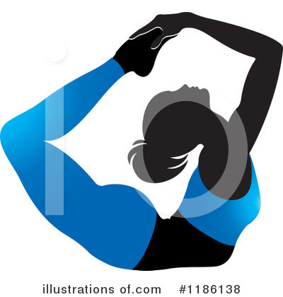 Yoga Clipart #1186138 by Lal Perera