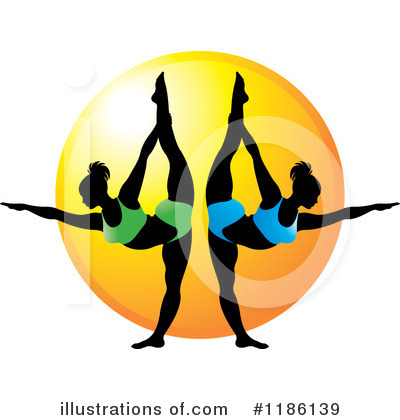 Yoga Clipart #1186139 by Lal Perera