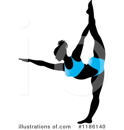 Yoga Clipart #1186140 by Lal Perera
