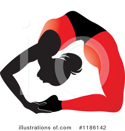Yoga Clipart #1186142 by Lal Perera