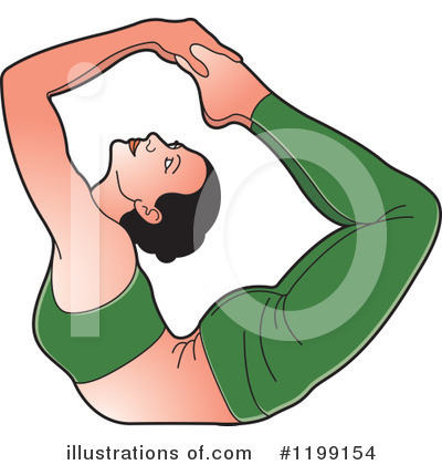 Yoga Clipart #1199154 by Lal Perera