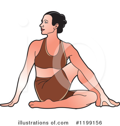 Yoga Clipart #1199156 by Lal Perera