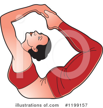 Yoga Clipart #1199157 by Lal Perera