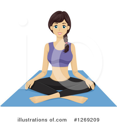 Yoga Clipart #1269209 by BNP Design Studio