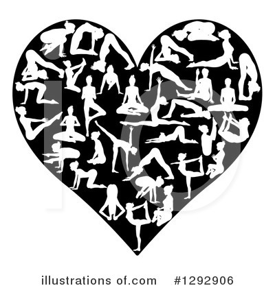 Yoga Clipart #1292906 by AtStockIllustration
