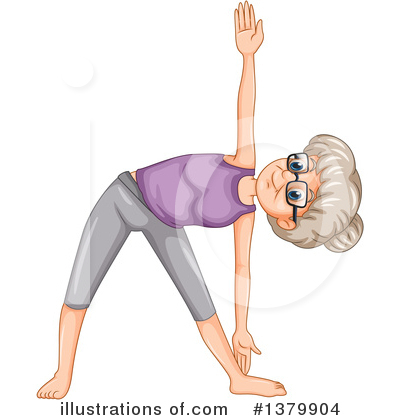 Yoga Clipart #1379904 by Graphics RF