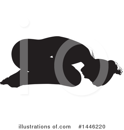 Royalty-Free (RF) Yoga Clipart Illustration by AtStockIllustration - Stock Sample #1446220