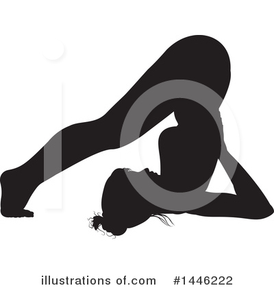 Yoga Clipart #1446222 by AtStockIllustration